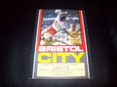 Bristol City v Chester City, 1987/88